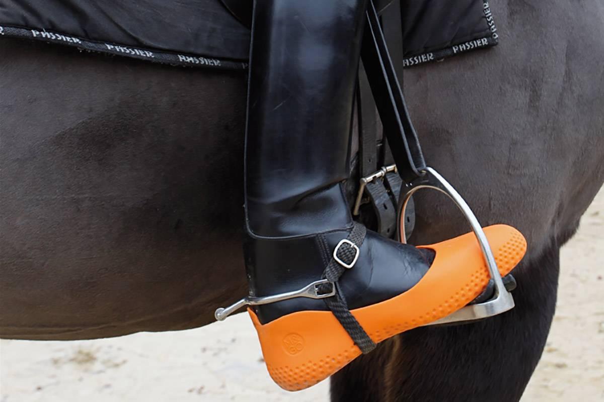 Sur botte équitation La mouillère