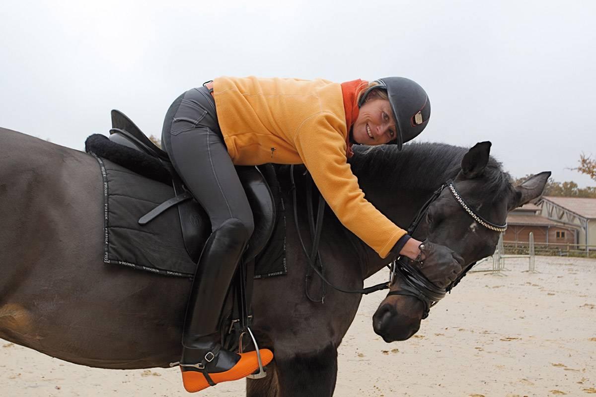 Sur bottes équitation La mouillère