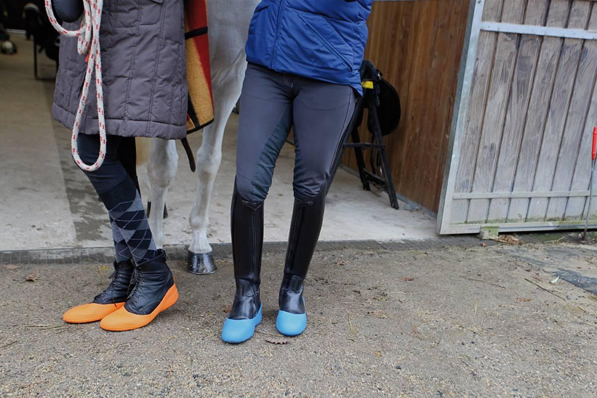 Sur bottes dans les paddocks