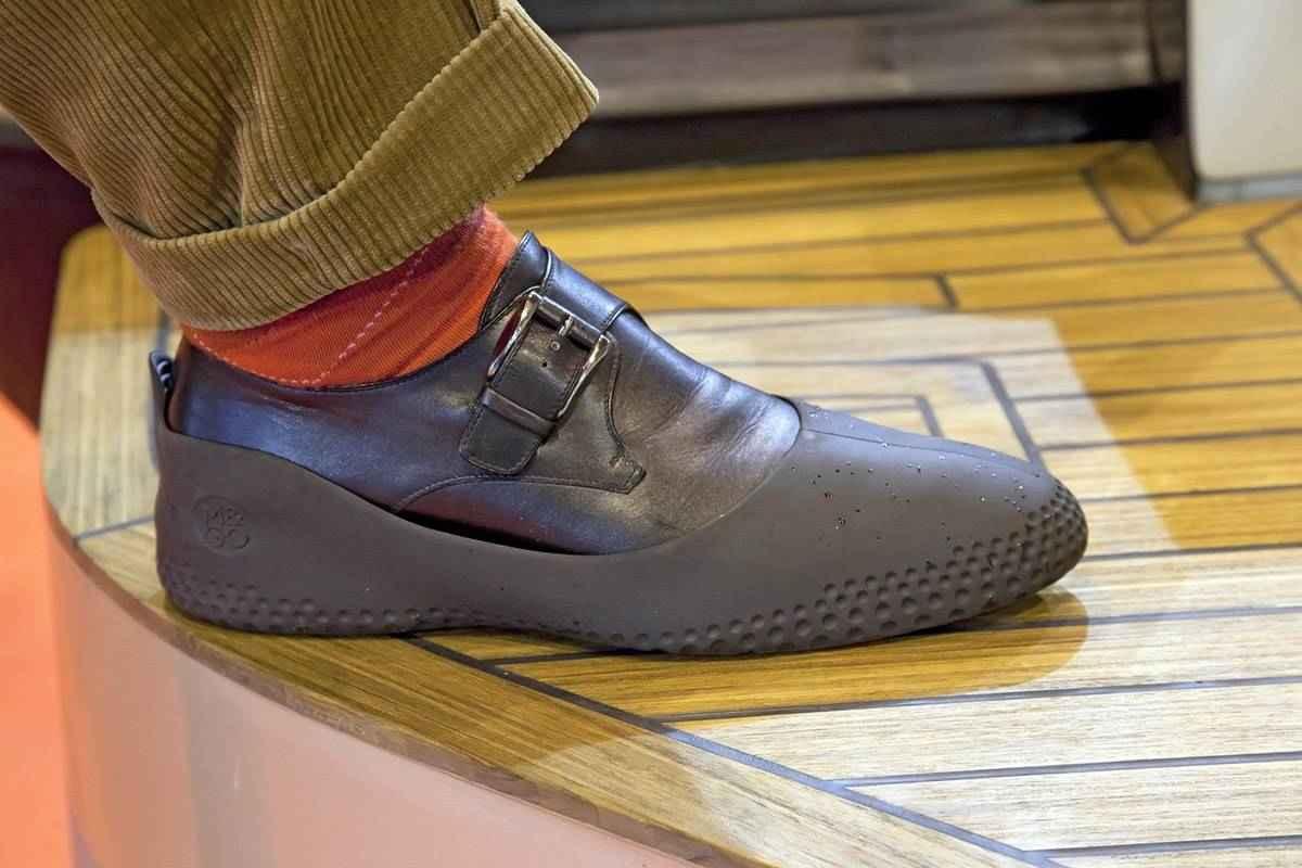 Couvre chaussures bateau la mouillère
