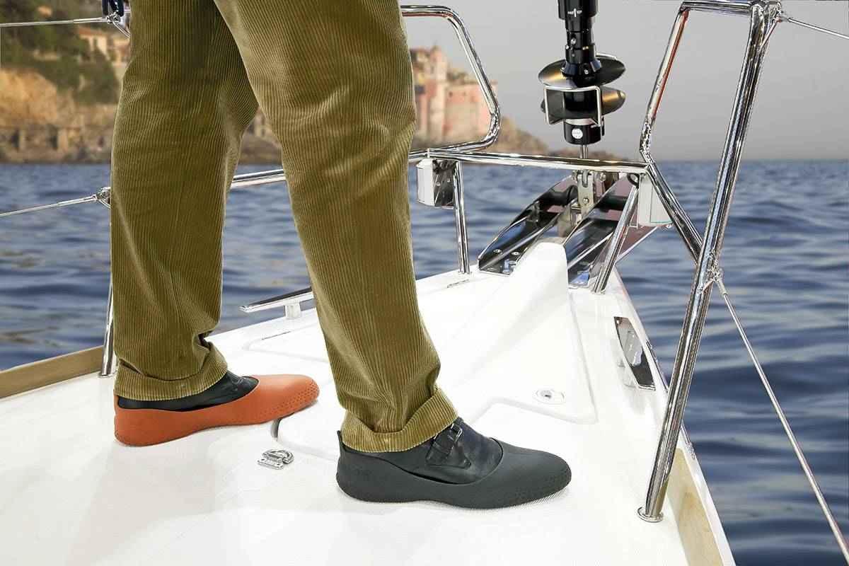 Sur chaussures mer la mouillère