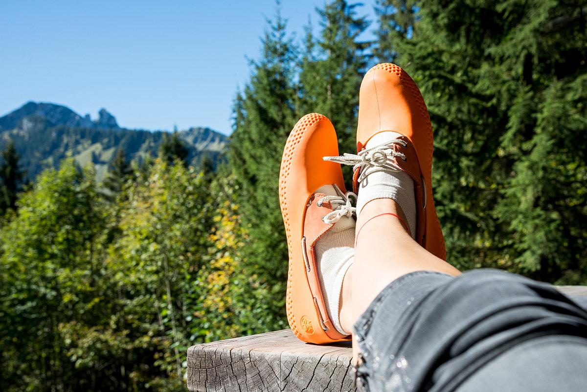 Surchaussures pour les promenades en forêt la Mouillère