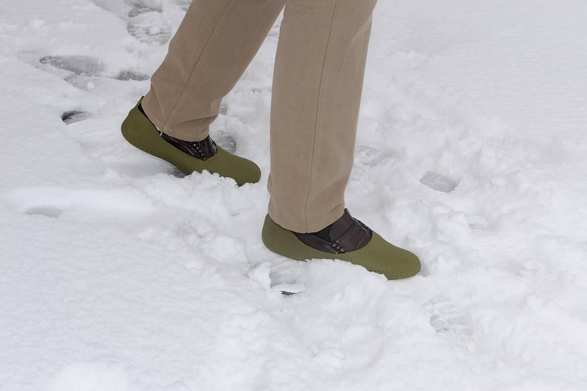 sur chaussures antidérapantes