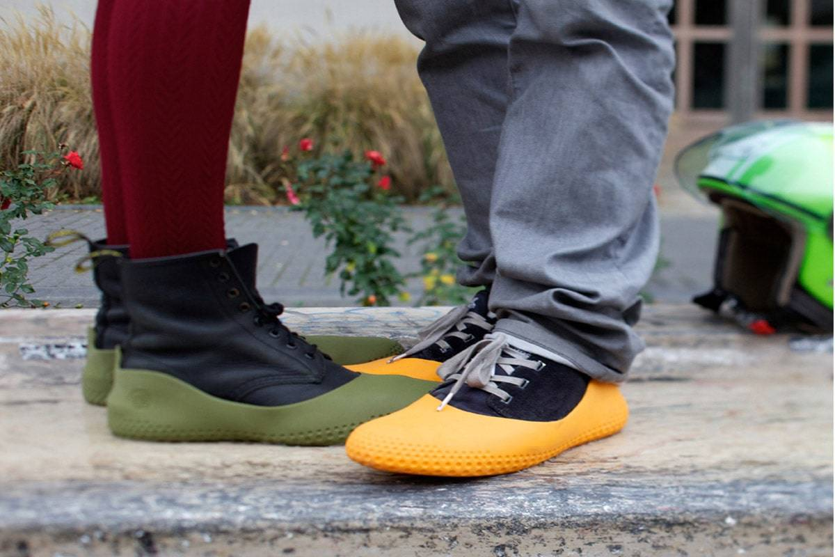 Sur chaussures en ville